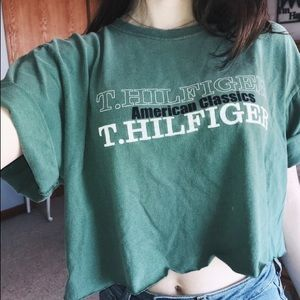 Cropped Tommy Hilfiger Tee
